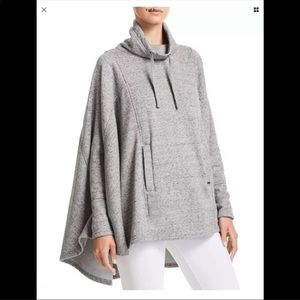 UGG PINCHOT PONCHO NWOT heather gray